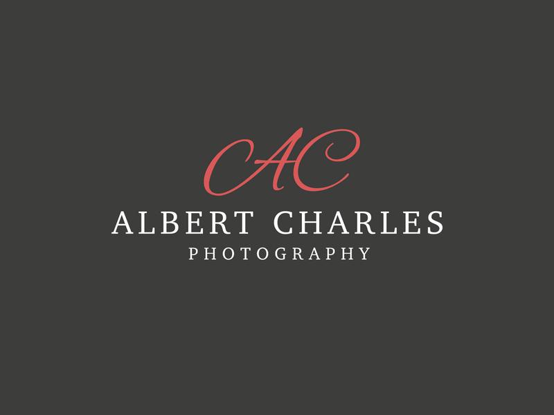 Albert Charles Photography photography logo photographer identity brand logo