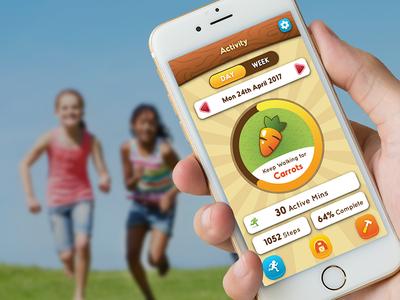 Hopscotch Farm ui game fitness farm