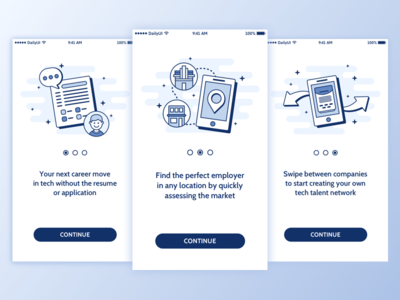 Daily UI #023 - Onboarding illustration icon onboarding ui