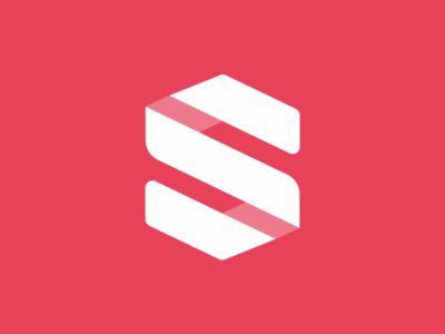 Surge Logo abstract minimal s monogram logo logo