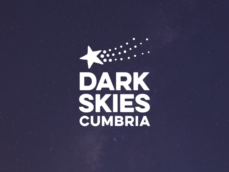 Dark Skies Cumbria appeal night sky dark skies identity logo