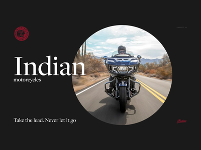 Indian motorcycles motorcycles interface design ui design web design