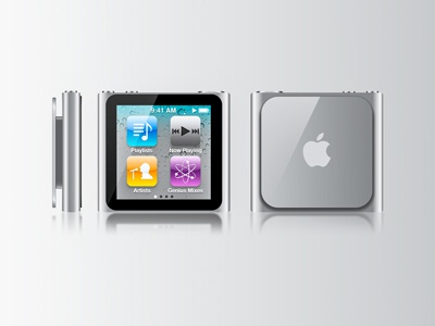 Apple Ipod Nano apple devices gadget vector design logo ui graphic dribbble illustraor branding iran ipod nano ipod apple icon flat  design