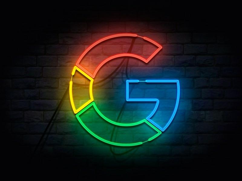 Google-MySuperG-G Neon Lights by Saeed Aliabadi on Dribbble