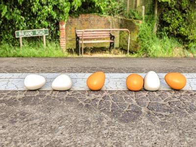 Eggs iranian cgi graphic dribbble design illustration modeling render egg cinema 4d c4d ae 3d