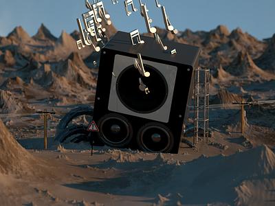 Desert Sounds octane c4d