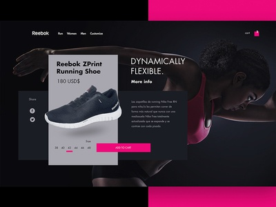 Reebok website
