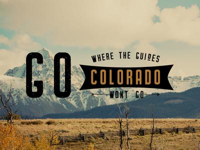 Colorado Back-country ad.