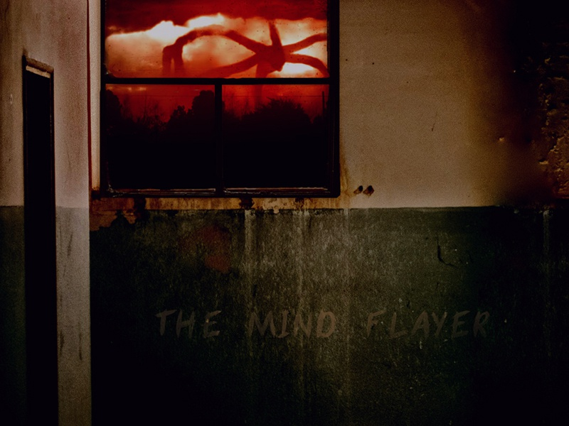 Stranger Things S2 Tribute photo manipulation scifi the mind flayer adobe photoshop fan art strangerthings
