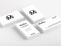Mellbe Minimalist Business Cards