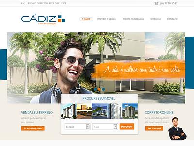 Website Cadiz website construction real state