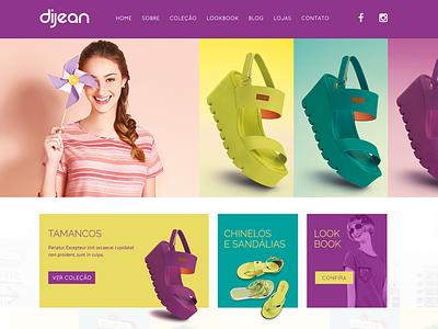 Dijean Website girl colorful shoes woman