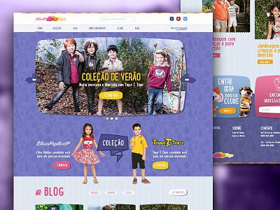 Lilica e Tigor - Home proposal fashion children kids