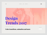 Blog | Design Trends 2017