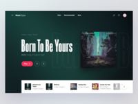#2 Music Page | Concept