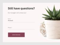 Message Form | UI