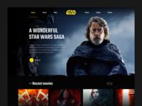 Star Wars | Concept website