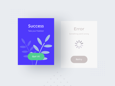 Flash Message | DailyUI concept daily challange simple design card colors ui ux typography illustration success error flash message dailyui
