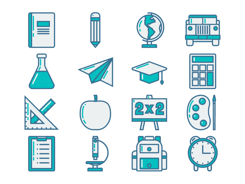 Education Icon by Bambang Dewanto - Dribbble