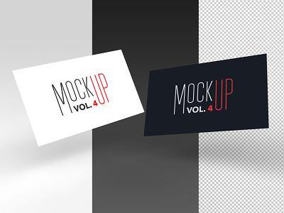 FREEBIE - Business card PSD mockup vol. 4 brand branding visiting business card free freebie mockup psd