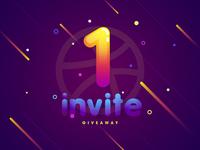 18/20 1x Dribbble invite