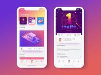 19/20 Portfolio app UI concept
