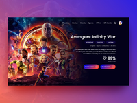 Landing Page - Movie Ticket Booking