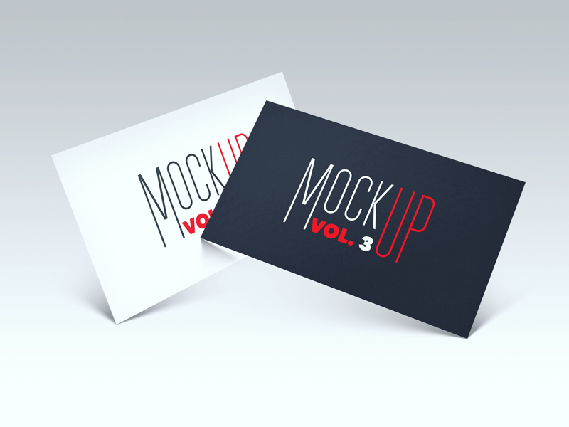 FREEBIE - Business card PSD Mockup vol. 3 psd mock-up mockup freebie free card business branding