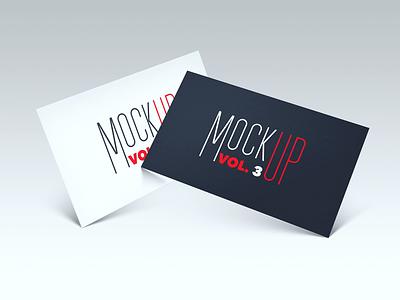FREEBIE - Business card PSD Mockup vol. 3 psd mock-up mockup freebie free card business branding