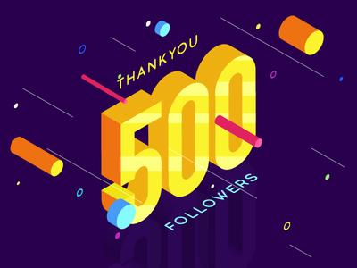 500 Followers 😃