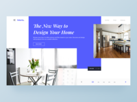 Interior Design Landingpage