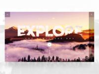 Explore - landing page