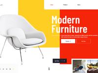 Furniture landingpage