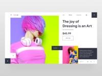 E-commerce - Landingpage