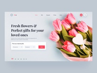 Flower & Gifts shop - Landingpage