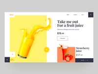 Fruit Juice - Web UI