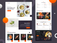 Delicious Food - Web UI