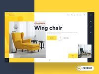 FREEBIE - Furniture Web UI