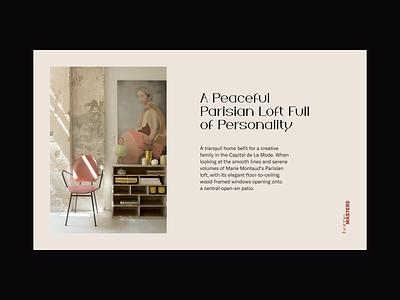 homeMASTERS brand concept luxury logo logotype branding website ui visual concept brand guidelines typography identity layout