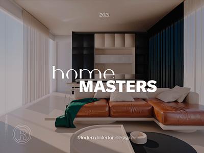 homeMASTERS teaser cgi animation octane blender 3d video layout identity luxury logo logotype branding visual concept