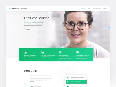 TrustStamp Business Website
