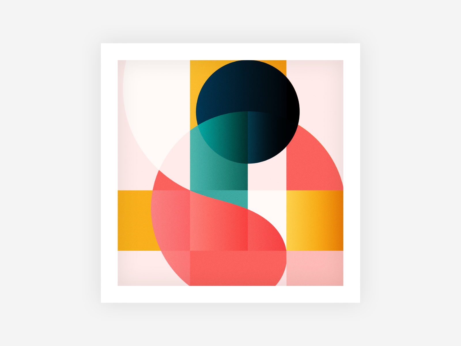Vacation Time art colorpalette colors vivid graphic  design geometric poster