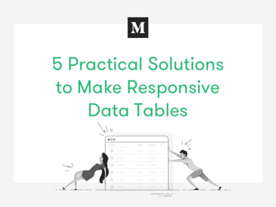 Medium Blogpost 01 data table interface userexperience ux tutorial rwd article text blogpost medium responsive