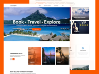 EasyTrips - Travel Booking Landing page