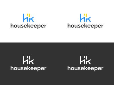 Help Request : Housekeeper Logo help negative space housekeeper mark logo