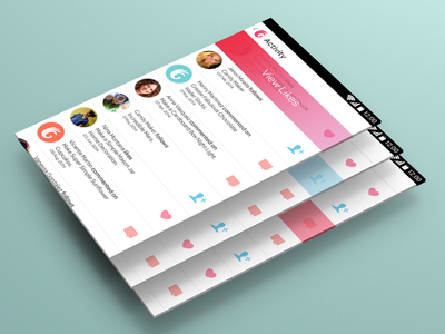 Activity List For Android - Guidecentral App app design