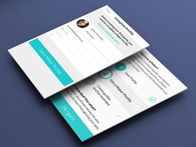 App Form app form info ios iphone screen green blue grey