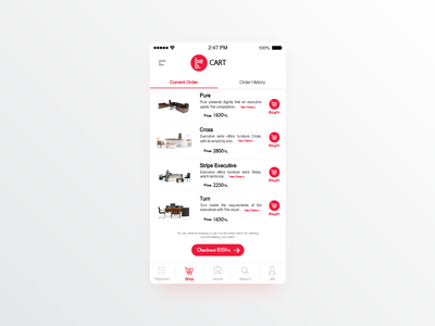 be b. Shopping app app furniture chair buy ux ui cart shop
