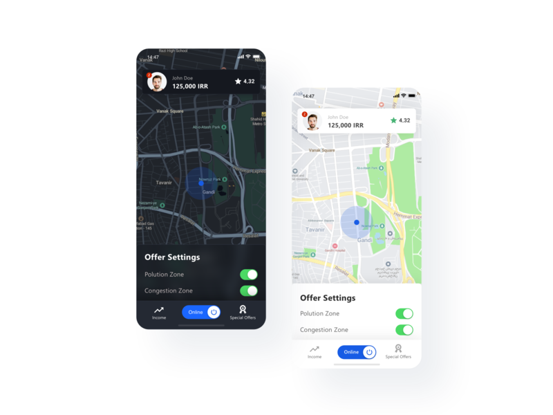 Snapp! Driver App Redesign