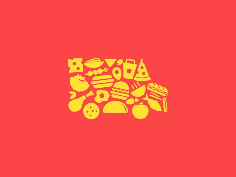 Mishmash Truck salad burger taco pizza unilever cluster food truck